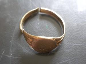 Broken Gold Ring
