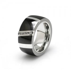 Black Titanium Rapture Ring