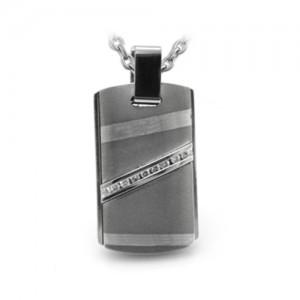 Grey Titanium Necklace Rapture