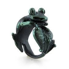 Titanium Frog ring