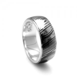 Timoku-Silver-Ring Titanium