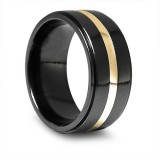 Edward Mirell Titanium mens wedding rings