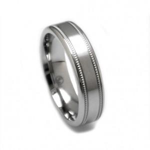titanium-milgrain-ring