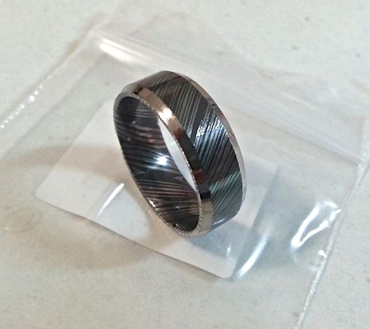 black titanium ring australia