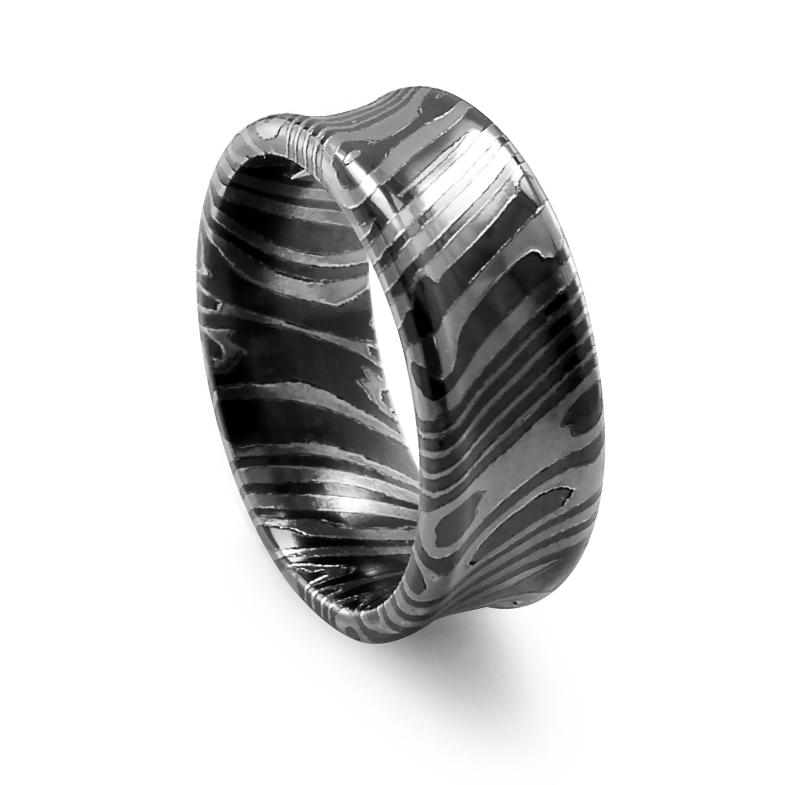black wedding banded titanium by band ring bands product rings camo