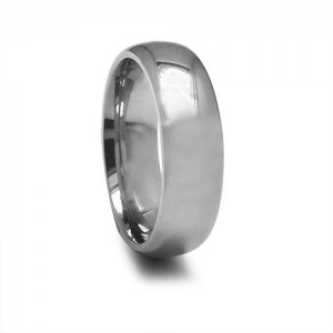 mens titanium wedding band