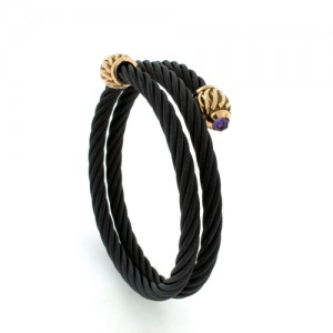 927_black-cable-wrap-bracelet-w-bronze-weave-end-cap-4mm-faceted-cab-amethyst_edward-mirell_b1050z-am000_l