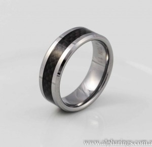 tungsten ring alpha rings