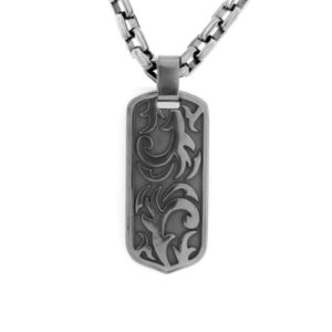 grey-mens-dogtag-necklace